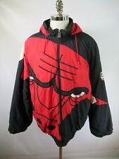 E9123 VTG 90s STARTER Chicago Bulls NBA Basketball Jacket Size XL