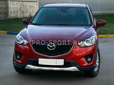 Mazda CX 5 2011 2012 2013 2014 2015 2016 2017 front bumper plate guard spoler