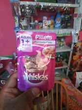 New listing whiskas cat food wet pouch salmon, beef, and grill mix 85gm 3 of each.