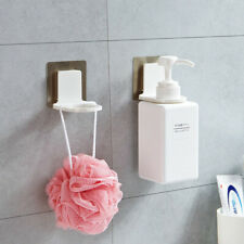 Shampoo Hook Shower Hand Soap Bottle Wall Mounted Sticky Hanging Holder