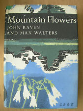 COLLINS N/N No 33 MOUNTAIN FLOWERS By JOHN RAVEN AND MAX WALTERS HB