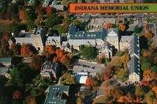 Indiana University, Indiana Memorial Union Aerial, Bloomington, IN --- Postcard