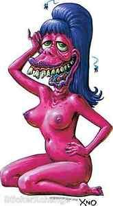 Lovely Betty Sticker Decal Artist XNO #2 Monster Art