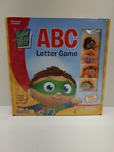 Super WHY ABC Letter Game Briarpatch Play'n Learn System NEW!!!