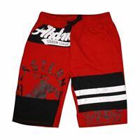 Akademiks Men's Red Sweat Shorts