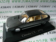 RBA15M voiture 1/43 RBA Italie IXO : CITRO�‹N CX 2400 pallas 1976 grise