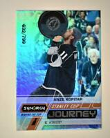 2020-21 UD Synergy Stanley Cup Journey Winning the Cup #CJ-AK Anze Kopitar /799