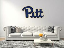 Pittsburgh Panthers NCAA Football Sports Wall Decal Vinyl Sticker For Room Home