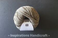 RICO Merino Aran Knitting Crochet Yarn 055 Soft Brown 1 Ball  (50gm)
