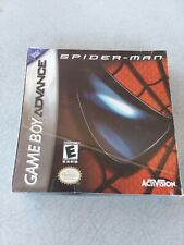 Spider-Man Game For Game Boy Advance. Brand New & Sealed.