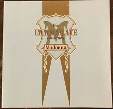 Madonna - The Immaculate Collection 2xLP Vinyl Record - 1990 Sire NEAR MINT