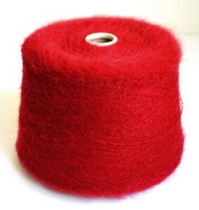 Italian alpaca wool yarns, 2.3 lb / 1040 grams cone