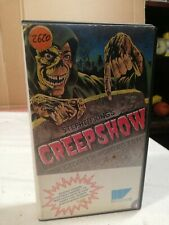 VHS - CREEPSHOW di George A. Romero Versione Integrale anni 80 rara Stephen king