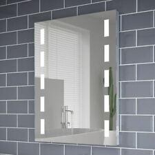600x800mm Lola Pro LED Illuminated Bathroom Mirror | Shaver Socket | Demister
