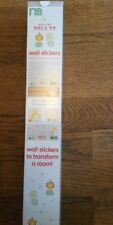 Mothercare Roll Up  Roll Up  Pack Of Wall Stickers. ** Bnip **