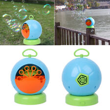 Automatic Bubble Machine Blower Maker Children Kids Indoor Outdoor Parties Toys