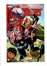 MARVEL ACTION AVENGERS #1 1:10 Jacob Edgar Variant Comic actual Scans!
