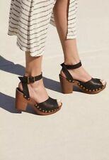Free People Pasadena Clog Sandal womens SZ 7.5 US SZ 38 Euro Black New In Box