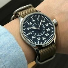 Big Dial Pilot Aviator Mechanical Military Watch Luminous Air Force Explorer