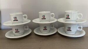 Vintage 6 Tasses à Café Bistrot Expresso Lavazza IPA Italie