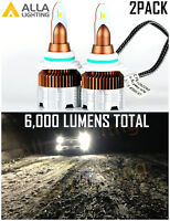 Alla Lighting Copper LED Pure White HB4/9006 Headlight Bulb Low Beam Replacement