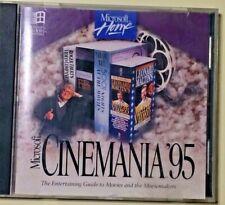 Microsoft Cinemania '95 Vintage Encyclopedia