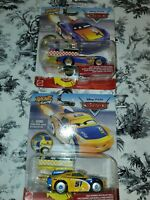 CARS Disney Pixar Lot of 2 XRS Rocket Racing BARRY DePEDAL 54 & CRUZ RAMIREZ 51