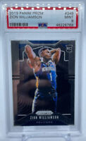2019 Panini Prizm Zion Williamson ROOKIE RC #248 PSA 9 MINT