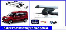 Barre Portatutto - Portapacchi- Portabagagli per Fiat Doblò 2000>