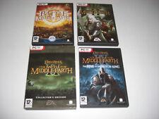 Señor de los anillos batalla por la tierra media PC elegir 1 II 2 Coleccionistas Witch King