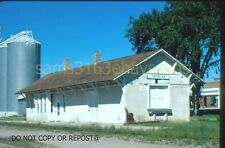 ORIGINAL SLIDE MINNEAPOLIS & ST LOUIS RR DEPOT FAIRFAX MN 1986