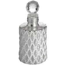 ANTIQUE SILVER SCENT BOTTLE - KEEP SMALL ITEMS HIDDEN