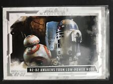 2017 Star Wars Masterwork Adventures R2-D2   R2-D2 awakens from low-power mode