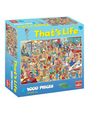 That's Life - Lunch Room 1003 PCE Jigsaw From Mr Toys