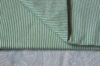 Striped Print Fabric Light 2.5 Yard hand Block.Indian.Cotton Fabric Craft*