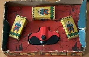 ACME  SUPERMAN  FILM STRIPS  VIEWER AND BOX WITH INSERT  C. 1948  800