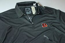 031ef7a56 Tommy Bahama Polo Shirt NFL Bengals Black Double Eagle T214535 New XX-Large  XXL