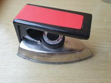 "Soviet Vintage Electric Portable Travel Mini Iron ""Kharkiv"" USSR Old"