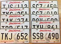 1 Louisiana Pelican License Plate