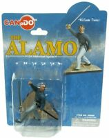 DRAGON CANDO Toy Soldier 1/24 Painted The Alamo Colonel William Travis Figure