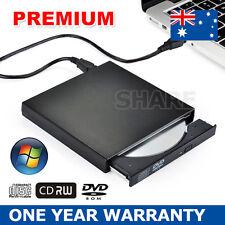Slim External USB 2.0 CD RW DVD ROM Drive Burner Portable MAC WIN7/8/10