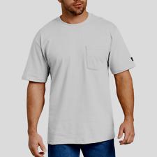 Genuine Dickies Men's Short Sleeve Heavy Weight Pocket T-Shirt, 2 Pk, XLT