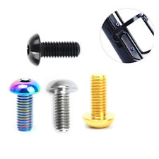 2pcs RISK Bicycle Cycling Titanium Bottle Cage Fixing Screws Button Head Bolts