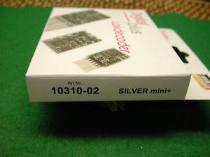 LENZ Art.Nr. 10310-02 Siver mini+ Decoder (N-Scale) Digital Plus NEW IN MFG BOX