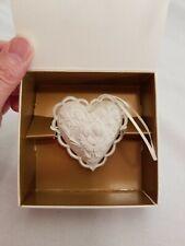 New 1997 Margaret Furlong From The Heart Victorian Heart Ornament Nib