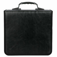PU Leather 520 Discs CD DVD Wallet Holder Bag Case Album Organizer Media Storage