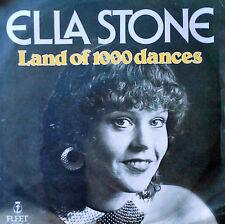 ELLA STONE - LAND OF 1000 DANCES - FLEET - NETHERLANDS 45 + PICTURE SLEEVE -1980