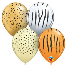 "Qualatex 87144 5"" Round Special Assortment Safari Latex Balloons 100ct"