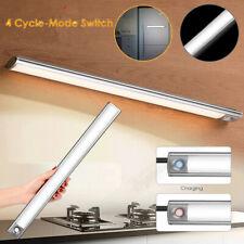 USB Slim Wireless PIR Motion Sensor LED Night Light Lamp Wardrobe Rechargeable