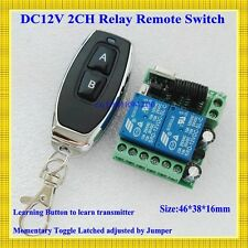 Smart Home Remote Control Switch 2 CH Relay Contact Wireless Switch ASK 2CH